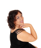 Lovely young woman in portrait. Royalty Free Stock Photo