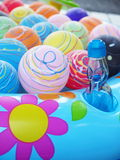 Lovely yoyo. Colorful water balloon at the summer festival in japan Royalty Free Stock Images