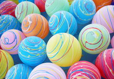 Lovely yoyo. Colorful water balloon at the summer festival in japan Stock Photography