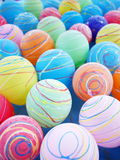 Lovely yoyo. Colorful water balloon at the summer festival in japan Royalty Free Stock Photos