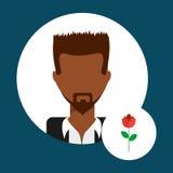 Lover avatar. Design, vector illustration eps10 graphic Stock Images