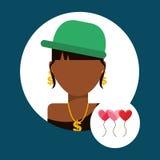 Lover avatar Royalty Free Stock Photography