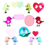 Lover birds Stock Photography