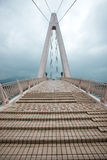 The Lover Bridge in Tamsui Fisherman s Wharf Royalty Free Stock Images