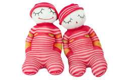 Lover craft dolls royalty free stock images