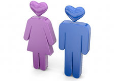 Lover - 3d Stock Images