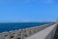 Lover dam. Qingdao Olympic Sailing Center lover dam Stock Photos