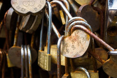 Lover lock Stock Image