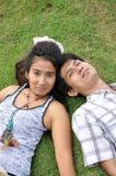 Lover Park Romantic Thailand Garden Stock Image