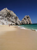 Lover's Beach Pacific Cabo Stock Image
