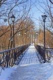 The Lover's Bridge Royalty Free Stock Photo