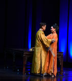 Lover's honeyed words -disillusionment-Modern drama Empresses in the Palace Stock Images