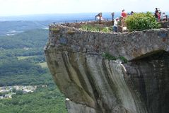 Lover's Leap at Rock City Stock Photography