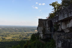 Lover`s Leap at Rock City Gardens in Chattanooga, Tennessee Stock Photos