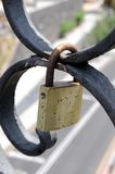Lover's Lock Royalty Free Stock Images