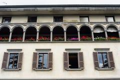 Lovere Bergamo, Italy, historic palace Royalty Free Stock Photos