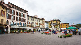 Lovere miasteczko, Włochy Zdjęcia Stock
