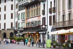 Lovere miasteczko, Włochy Fotografia Stock