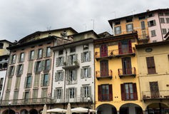 Lovere & x28;Bergamo, Italy& x29;, historic square Stock Photo