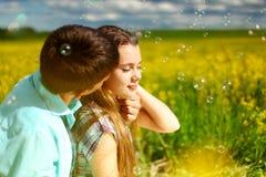 Lovers stock photo