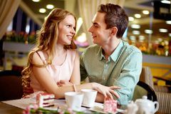 Lovers Stock Photography