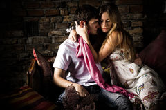 Lovers Royalty Free Stock Photos