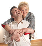 Lovers At Home Royalty Free Stock Photo