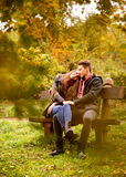 Lovers Royalty Free Stock Photography