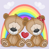 Lovers Bears Royalty Free Stock Photography