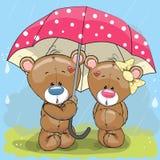 Lovers Bears Royalty Free Stock Image