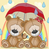 Lovers Bears Royalty Free Stock Image