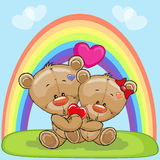 Lovers Bears Royalty Free Stock Photos