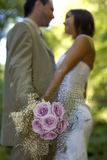 Lovers bouquet royalty free stock photography