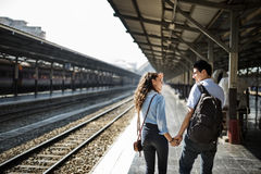 Lovers Couple Togetherness Dating Travel Journey Concept Royalty Free Stock Photos