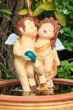 Lovers cupid doll Royalty Free Stock Images