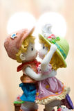 Lovers Dolls Royalty Free Stock Images