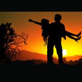 Lovers F Stock Photography