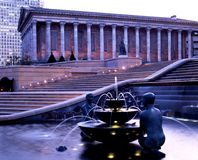 Lovers fountain, Birmingham, England. Stock Photography