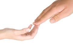 Lovers Hands stock photos