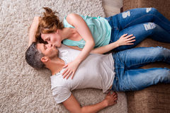 Lovers home Royalty Free Stock Photos