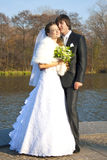 Lovers honeymoon Royalty Free Stock Photography