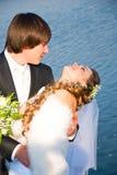 Lovers honeymoon Royalty Free Stock Image