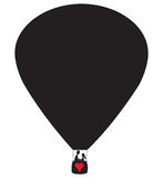Lovers Hot Air Balloon Royalty Free Stock Photo