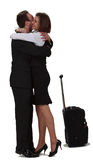 Lovers hugging Royalty Free Stock Photography