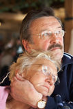 Lovers In Age Stock Image