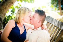 A Lovers Kiss Royalty Free Stock Photography