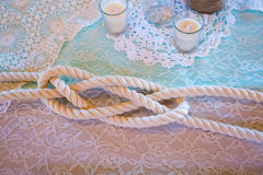 Lovers Knot at Wedding Royalty Free Stock Photo
