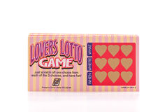 Lovers Lotto Game Stock Photos