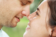 Lovers in love Royalty Free Stock Photos