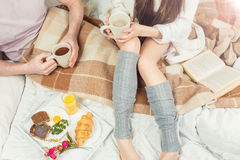 Lovers morning Royalty Free Stock Photography